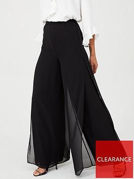 gina-bacconi-split-seam-wide-leg-trouser-black