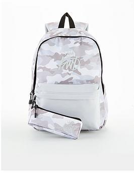 kings-will-dream-boys-halton-camo-backpack-grey