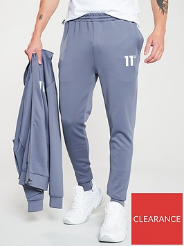 11-degrees-core-poly-joggers-twister-grey