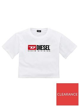 diesel-girls-short-sleeve-boxy-cropped-t-shirt-white