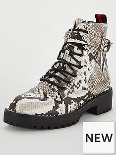 v-by-very-natasha-chunky-lace-up-hiker-boot-snake-print