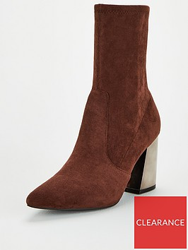 v-by-very-rita-feature-heel-calf-sock-boots-brown