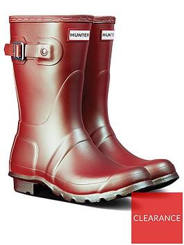 hunter-original-short-nebula-wellington-boots-pink
