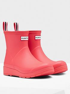 hunter-original-play-short-welly-pink