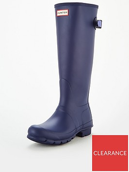 hunter-back-adjustable-tall-welly-purple