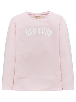barbour-girls-clair-logo-long-sleeve-t-shirt-rose