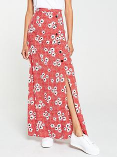 v-by-very-spun-viscose-floral-and-polka-maxi-skirt-printed