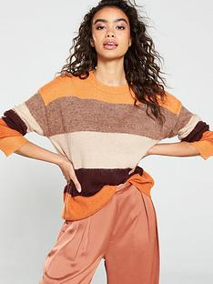 native-youth-the-victoria-striped-knitted-jumper-rust-stripe