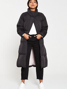 native-youth-the-indira-longline-padded-coat-black
