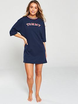 tommy-hilfiger-lounge-t-shirt-dress-navy