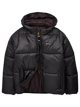 barbour-boys-ross-quilted-hooded-coat-black