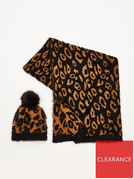v-by-very-leopard-print-hat-and-scarf-set