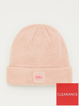 v-by-very-slogan-knitted-beanie-chill