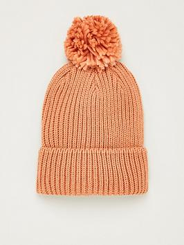 v-by-very-knitted-pom-pom-beanie-dusty-pink