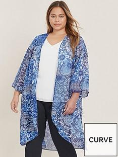 evans-tile-print-kimono-bluemulti