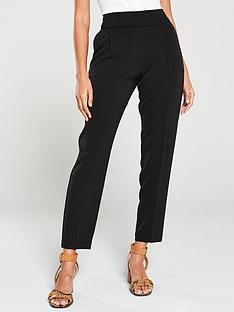 wallis-henna-pull-on-trouser-black