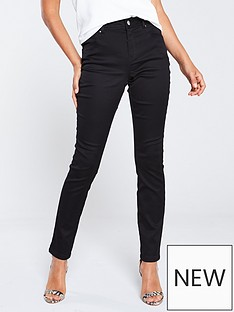 wallis-tinseltown-fly-front-trousers-black