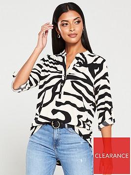 wallis-zebra-itynbspblouse-mono