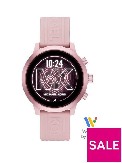 michael-kors-michael-kors-mkgo-full-display-rose-gold-dial-pink-silicone-strap-smart-watch