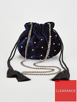 v-by-very-poppy-drawstring-tassle-bag