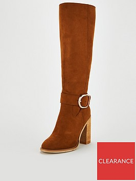 v-by-very-tania-large-buckle-trim-block-heel-knee-boot