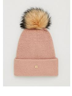 superdry-heritage-ribbed-beanie-camel