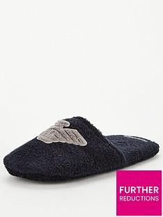 emporio-armani-eagle-logo-slippers-navy