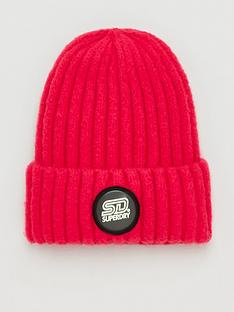 superdry-super-chunky-ribbed-beanie-pink