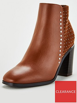 v-by-very-milly-studded-block-heel-square-toe-ankle-boots-tan