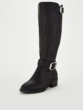 v-by-very-tilly-buckle-riding-boot