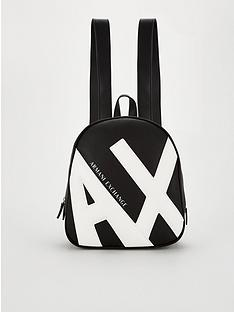 armani-exchange-logo-back-pack