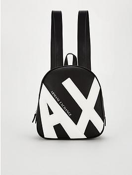armani-exchange-logo-back-pack