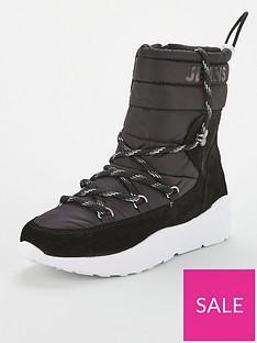 tommy-jeans-padded-nylon-hybrid-boots-black