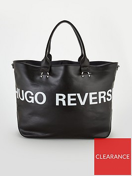 hugo-reverse-faux-leather-leyton-shopper-black