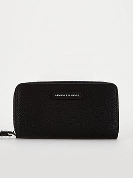 armani-exchange-logo-purse-black
