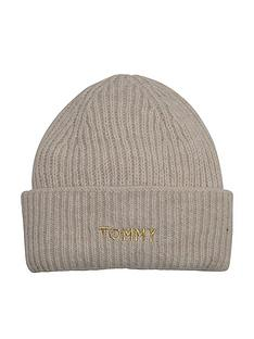 tommy-hilfiger-effortless-beanie-beige