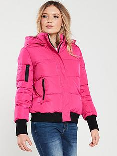 armani-exchange-padded-jacket-pink