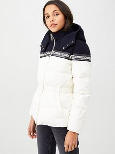 armani-exchange-down-jacket-cream