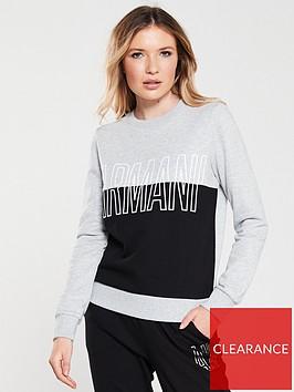armani-exchange-logo-sweatshirt-grey-black