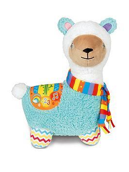 clementoni-baby-clementoni-interactive-llama-plush