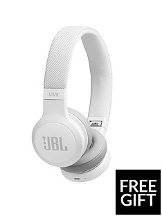 jbl-live-400bt-bluetooth-wireless-on-ear-headphones-white-with-voice-assistant-limited-free-sports-headphonesnbspoffer