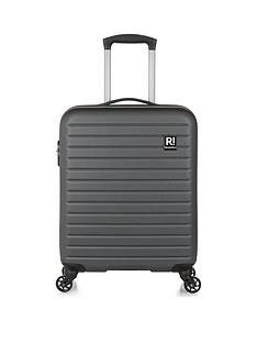 6d7ae55ba REVELATION By Antler Dominica 4W Carry On Spinner Charcoal