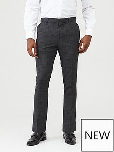 v-by-very-checked-formal-suit-trousers-grey