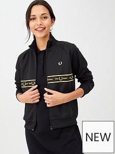 fred-perry-tape-detail-track-jacket-blacknbsp