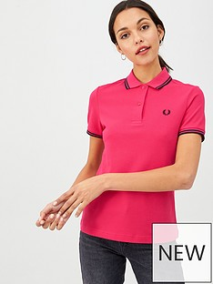 fred-perry-twin-tipped-polo-top-pink