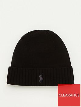 polo-ralph-lauren-merino-wool-beanie-hat-black