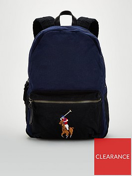 polo-ralph-lauren-canvas-big-pony-backpack-navy