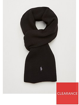 polo-ralph-lauren-merino-wool-scarf-black