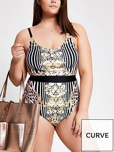 ri-plus-baroque-printed-swimsuit-black