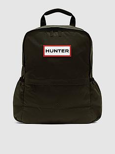 hunter-nylon-original-backpack-dark-olive